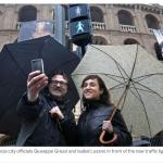 Cadou inedit de 8 martie: Semafoare cu siluete feminine în Spania