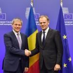 """IMAGINEA ZILEI Darul lui Dacian Cioloș pentru președintele Consiliului European: """"Pentru a ne mai descreți frunțile"""""""