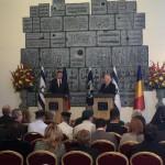 Corespondență. Klaus Iohannis, vizită în Israel: Combaterea terorismului este un angajament ferm al României