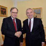 Șeful diplomației române, întrevedere cu Alexander Vershbow. România solicită o prezență robustă a forțelor NATO pe flancul estic