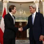 Ministrul de Externe austriac, întâlnire cu John Kerry: Scopul nostru este acela de a decide cine ajunge în Europa, cui trebuie să acordăm ajutorul. Decizia nu trebuie să aparțină traficanților