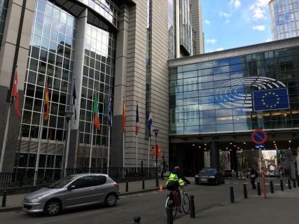 FOTO: CaleaEuropeana.ro/ Sediul Parlamentului European