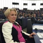 Eurodeputatul Viorica Dăncilă, în PE: Susțin promovarea produselor alimentare montane la nivelul UE