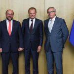 Jean-Claude Juncker, la Roma: S-au schimbat multe de când candidam pentru funcția de președinte al CE împotriva lui Martin Schulz. Atunci problema migrației era una malteză sau italiană, astăzi este una europeană