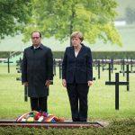 VIDEO Merkel și Hollande, apel pentru protejarea Europei la comemorarea a 100 de ani de la bătălia de la Verdun