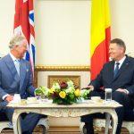 Președintele Klaus Iohannis îl primește pe prințul Charles, luni, la București, la un an de la precedenta întâlnire