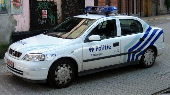 Policecar_antwerp belgium