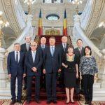 Klaus Iohannis i-a primit pe judecătorii CCR la Palatul Cotroceni, la solicitarea lui Augustin Zegrean