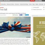"""Clivaj în presa britanică în timpul referendumului privind BREXIT. The Sun îndeamnă cetățenii să voteze pentru ieșire: """"Independence Day"""" / The Economist: """"Divided we fall"""""""