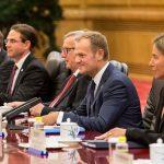 Donald Tusk la summitul din Beijing: Dacă globalizarea este percepută greșit, principalii perdanți vor fi Uniunea Europeană și China
