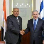 Întâlnire israeliano-egipteană pentru reluarea discuțiilor de pace cu Palestina. Ministrul de Externe egiptean: Suntem pregătiți să contribuim la obținerea păcii în zonă
