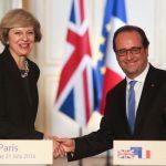 VIDEO Francois Hollande către Theresa May: Marea Britanie nu ar trebui să aibă acces la piața unică europeană dacă elimină libertatea de circulație