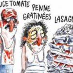 """Publicația franceză Charlie Hebdo, dată în judecată după caricatura """"Cutremur în stil italian"""": Este este o """"insultă macabră"""" față de victimele cutremurului"""
