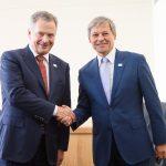 România și Finlanda se pregătesc pentru președințiile UE din 2019: Dacian Cioloș și președintele Finlandei, discuții privind crearea unui mecanism de consultare