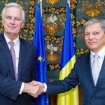 Dacian Cioloș către negociatorul-șef al Comisiei Europene pentru Brexit: România, în calitate de președinte al Consiliului, va juca un rol important în finalizarea negocierilor pentru ieșirea Marii Britanii din UE