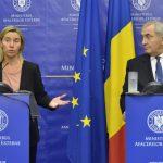 Federica Mogherini și Lazăr Comănescu: Premiul Nobel pentru Pace acordat președintelui columbian Juan Manuel Santos este o distincție care recunoaște viziunea unui om minunat al păcii