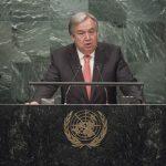 Președintele SUA și secretarul general al Națiunilor Unite, prima întrevedere după declarațiile lui Trump de a reduce rolul Statelor Unite în ONU
