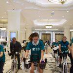 IMAGINEA ZILEI Dacian Cioloș, pe bicicletă pentru a sprijini campania SOS Satele Copiilor