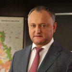 Igor Dodon va fi învestit în funcția de președinte al Republicii Moldova la 23 decembrie