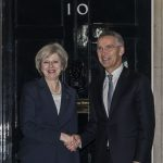 Jens Stoltenberg, întâlnire cu premierul Theresa May: Statele europene trebuie să urmeze exemplul Marii Britanii privind cheltuielile de apărare