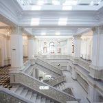 FOTO/ Sediul central al Muzeului Național de Artă din R. Moldova, renovat cu finanțare românească de un milion de euro, va fi redeschis vineri