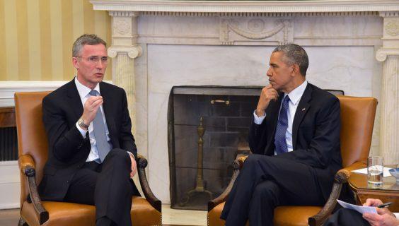 NATO Secretary General Jens Stoltenberg and US President Barack Obama at the White House. Foto: nato.int