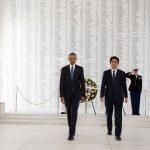 """Momentul istoric care încheie anul 2016. Președintele SUA și premierul Japoniei la Pearl Harbor: """"Caracterul unei țări se măsoară în timp de război, dar se definește și în perioadă de pace"""""""
