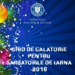 """Ministerul Afacerilor Externe a lansat """"Ghidul de călătorie pentru Sărbătorile de iarnă"""". Ce trebuie să știți dacă plecați în străinătate"""