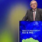"""Jean-Claude Juncker, la 25 de ani de la negocierea Tratatului Uniunii Europene: """"În 20 de ani, niciun stat membru al UE nu va mai fi membru al G7. Nu vom exista ca națiuni unice fără UE"""""""