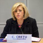 Comisarul european Corina Crețu a aprobat continuarea a 11 proiecte din România, cu o finanțare din partea UE de 500 de milioane de euro