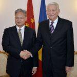 Ministrul român al afacerilor externe, întrevedere cu ambasadorul Chinei în România