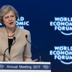 Premierul Theresa May, la Davos: Marea Britanie va fi un lider mondial în domeniul comerțului după Brexit