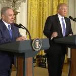 """Președintele SUA, întrevedere cu premierul israelian: Voi depune """"mari eforturi"""" pentru obținerea unui acord de pace israeliano-palestinian"""