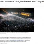 """Protestele din România, relatate în presa internaţională: """"Guvernul se predă sau se retrage strategic?"""""""
