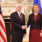 Federica Mogherini merge la Washington pentru a-i convinge pe oficialii americani să nu scoată țara din acordul nuclear cu Iran