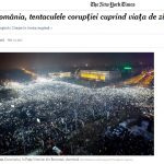 Articol în limba română, publicat pe site-ul The New York Times: În România, tentaculele corupţiei cuprind viaţa de zi cu zi