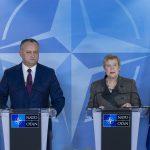 NATO: Sprijinim o Republică Moldova neutră și deschidem în acest an un birou la Chișinău. Igor Dodon cere Alianței să nu se grăbească