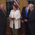 SUA au un nou șef al diplomației. Rex Tillerson, învestit în funcția de secretar de Stat: Anti-corupția și statul de drept sunt fundamentul relației România-SUA