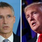 Summitul NATO va avea loc în luna mai. Donald Trump și Jens Stoltenberg, apel pentru contribuții militare din partea tuturor aliaților
