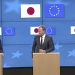 În era protecționismului lui Trump, UE și Japonia pledează pentru semnarea unui acord de liber schimb