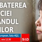 """VIDEO. Europarlamentarul Viorica Dăncilă, gazda evenimentului """"Combaterea sărăciei în rândul copiilor"""" în Parlamentul European"""