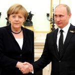 Angela Merkel și Vladimir Putin se întâlnesc pe litoralul Mării Negre: Cancelarul Germaniei merge marți în Rusia