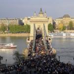 Budapesta: Manifestație pro-UE și împotriva premierului Viktor Orban