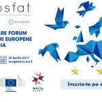 Eurosfat 2017 – forumul anual de dezbateri europene din România are loc vineri la București