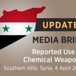 Organizaţia pentru Interzicerea Armelor Chimice confirmă utilizarea gazului sarin în atacul chimic din Siria