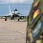 Avioane militare britanice sosesc la Baza Mihail Kogălniceanu pentru a apăra spațiul aerian al României