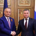 """Igor Dodon, vizită în Rusia: Aderarea Republicii Moldova la NATO, """"inacceptabilă în mod categoric"""""""