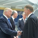 Galerie FOTO Atmosfera în care au avut loc primele discuții dintre Klaus Iohannis și Donald Trump la reuniunea NATO de la Bruxelles