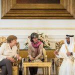 Cancelarul Angela Merkel a refuzat să poarte văl la întâlnirea cu regele Salman al Arabiei Saudite