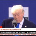 """Discurs dojenitor al lui Donald Trump la adresa aliaților din NATO: """"23 de state din cele 28 de țări membre încă nu plătesc. Doi la sută este un prag minim având în vedere cu ce ne confruntăm astăzi"""". Reacțiile liderilor aliați (FOTO&VIDEO)"""
